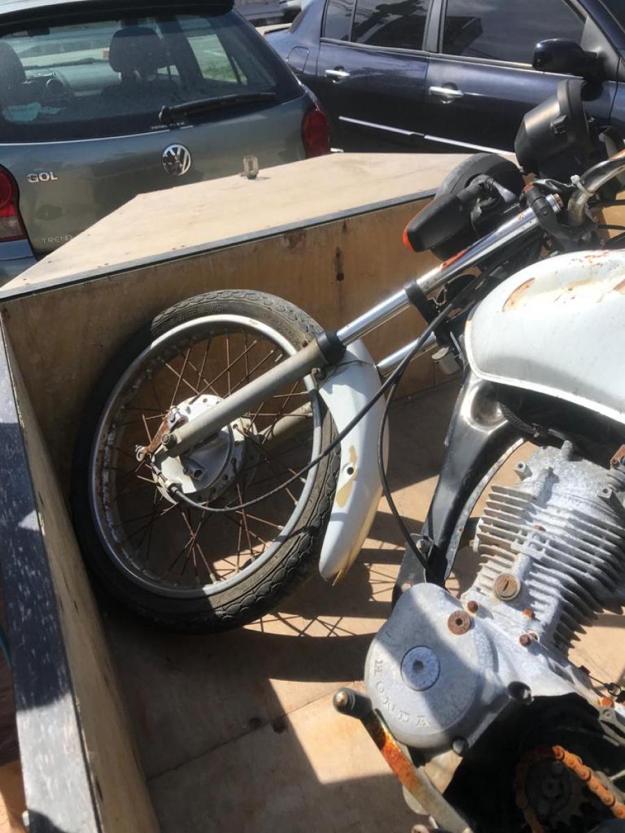 Motocicleta Honda CG 125 Cargo