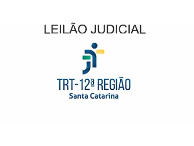 LEILÃO DA 2ª VARA DO TRABALHO DE FLORIANÓPOLIS/SC.